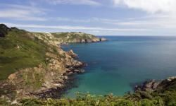 Along the cliff walk in Guernsey