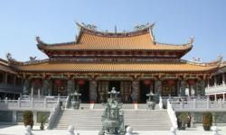 Chinese temple in Macau
