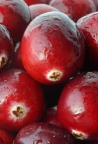 Rich in vitamin C, cranberries are good in sauces.