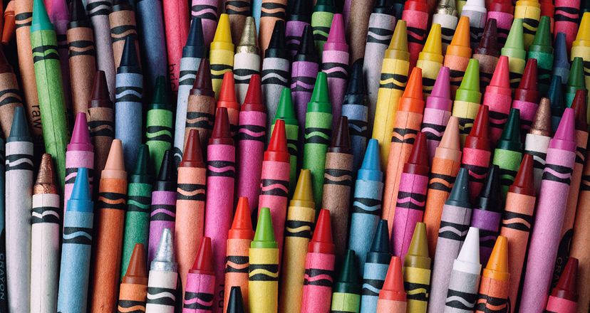 In the wake of the U.S. Civil War, several American firms jumped into the crayon business and a Massachusetts manufacturer named Charles A. Bowley became the first to use a material called paraffin. Garry Gay/Getty Images