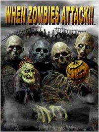 """A poster for the movie """"When Zombies Attack!!"""""""