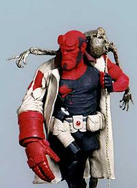 """A maquette from the movie """"Hellboy"""""""