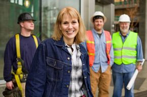 People who share an employer, such as these construction workers, are eligible for membership in a natural-person credit union.
