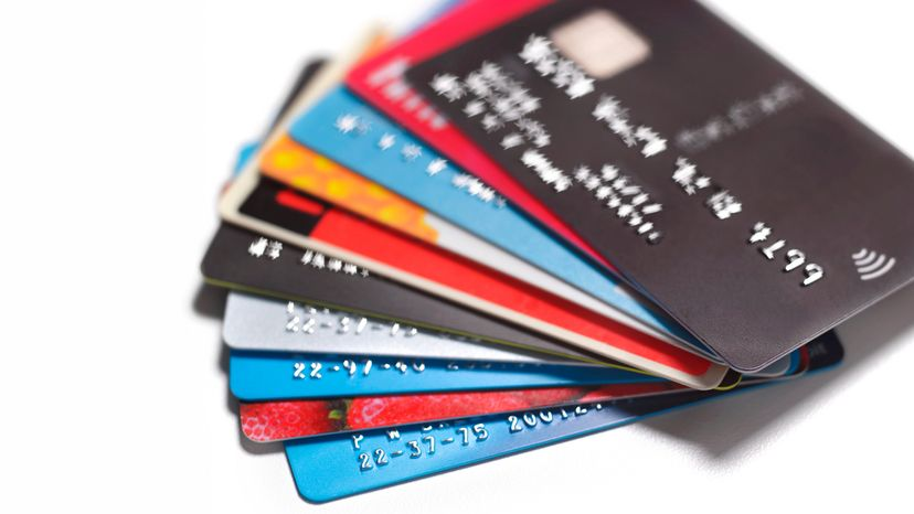 Pile of Different Credit Cards