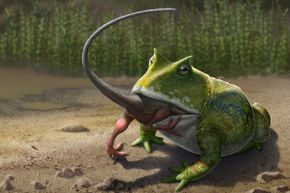 Yum! Tasty, small dinosaurs!