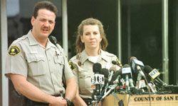 Deputies Robert Brunk and Laura Gacek discovered the bodies.