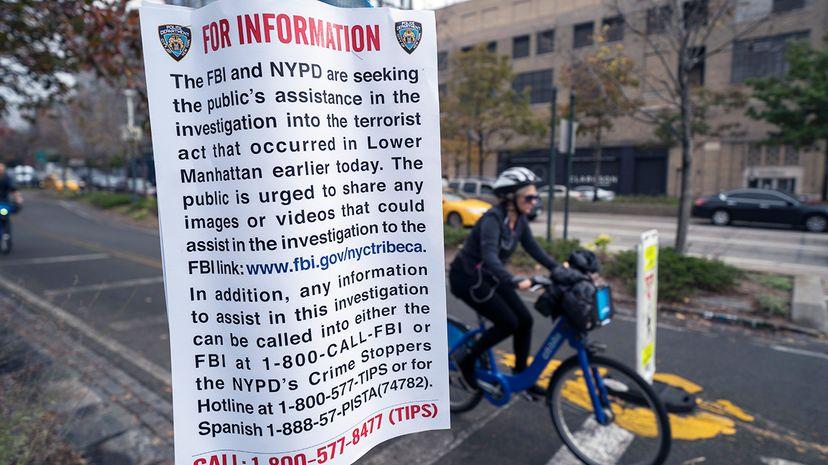New York terror attack bike lane