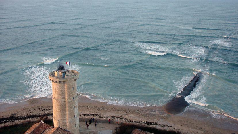 cross sea waves