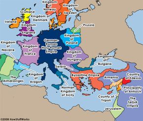 The world at the time of the Crusades