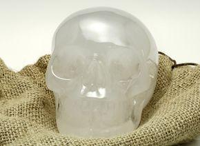 A crystal skull
