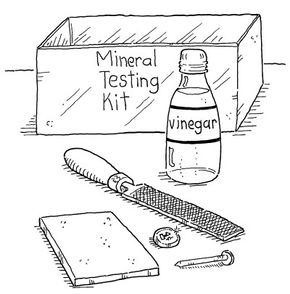 Create your own mineral testing kit.