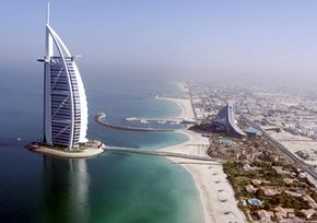 The Burj Al Arab architects hoped people would recognize the hotel's distinct shape from a thirty second sketch.