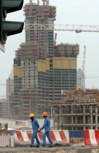 Migrant laborers in Dubai often work in subpar conditions.