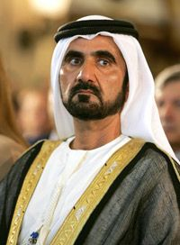 Sheik Mohammed, the ruler of Dubai, has driven the emirate's wealth.