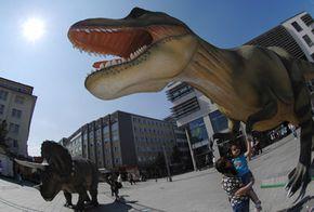 Dubailand will feature animatronic dinosaurs
