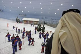 Dubai's existing indoor ski run, Ski Dubai.