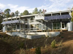 The Smart Home is much more than just a residence hall. See more green science pictures.
