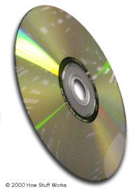 A DVD can store almost eight hours of CD-quality music per side.