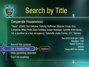 TiVo Search Tool