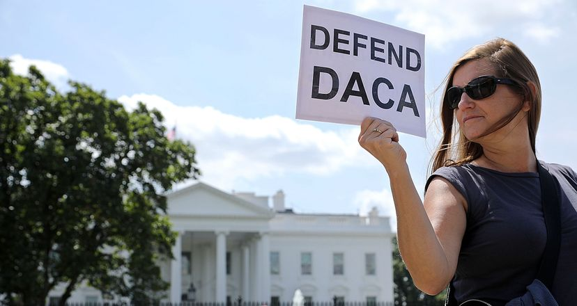The Trump administration announced on Tuesday, Sept. 5 that it was ending DACA, the the Deferred Action for Childhood Arrivals program, which protected children brought to the United States illegally by their parents, from being deported. Chip Somodevilla/Getty Images