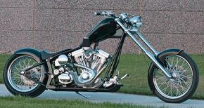 The Daddy Long Legs is a Radical                              chopper built by Klock Werks.                                            See more chopper pictures.