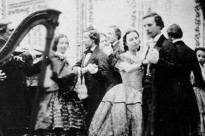 In the 19th century, dancing was a major deal. Unlike the clubs of today, social etiquette and order was of the utmost importance.