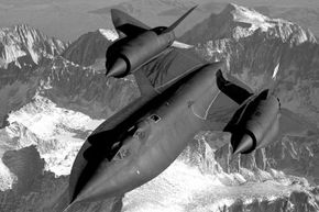 The CIA sent out one of its SR-71 Blackbirds in the search.