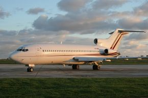 D.B. Cooper hijacked a Boeing 727-100 similar to this one.