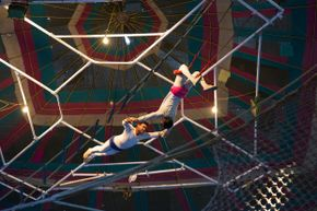 Aerial acts are stunning feats of talent and grace, but sometimes they end in unfortunate accidents.