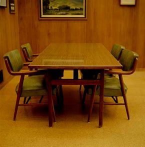 Classy pressed wood paneling may emit formaldehyde.