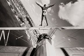 Extreme Sports Image Gallery Wing walkers came into prominence in the 1920s. See more pictures of extreme sports.