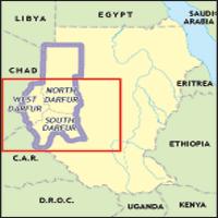 Darfur is in western Sudan.