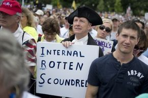 Members of the so-called Tea Party were none too pleased when the IRS admitted it was looking particularly closely at their political groups and donations.