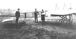 The Model XI that took Louis Bleriot across the English Channel.