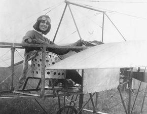Harriet Quimby was the first liscensed female pilot in the United States.