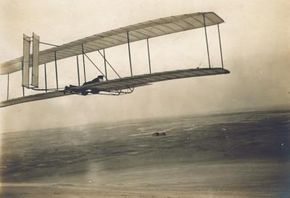 The Wright glider.
