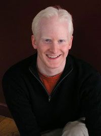 "Dennis Hurley, creator of the satirical film ""The Albino Code,"" which addresses the way that ""The Da Vinci Code"" presents people with albinism."