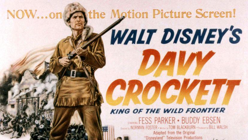 Davy Crockett movie, Fess Parker
