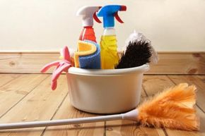 You don't need a plethora of cleaning supplies to keep your place tidy. Make sure to keep these products handy for a easy-to-clean home.