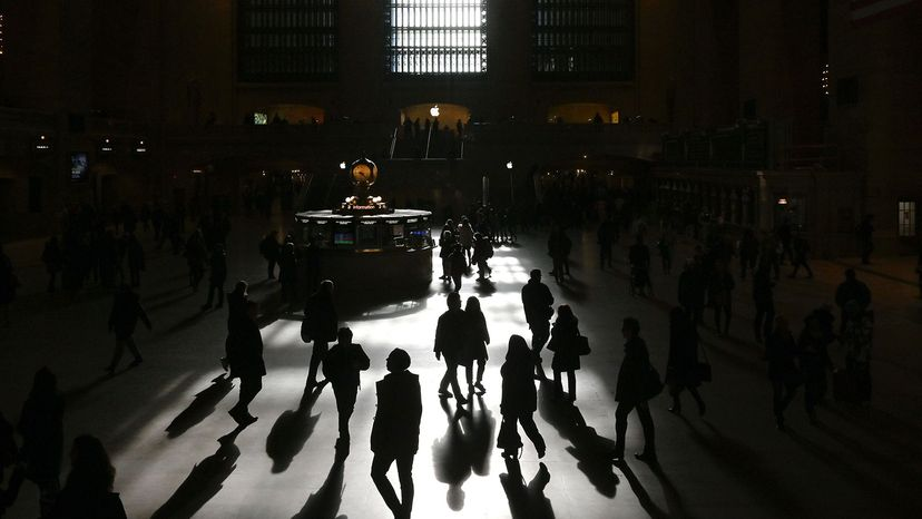 commuters, grand central terminal