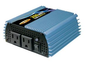 Car Gadgets Image Gallery An inverter like this 200-watt unit is easy to use and install. It's very portable, but its best suited for powering small electronic devices. See more pictures of car gadgets.
