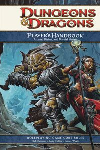 The Player's Handbook is an invaluable source of information to new players.