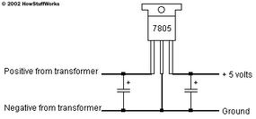 To connect the regulator to the transformer, you can use this configuration.