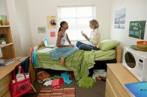 Congratulations, you made it into college. But that dorm room isn't going to decorate itself. You've got some work to do. See more college pictures.
