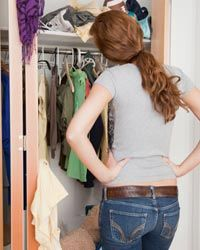 Assigning tasks to family members, like cleaning certain areas of the house, can make decluttering more efficient.