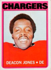 """Deacon Jones not only coined                              the term """"sack,"""" he also                                            invented his own nickname.                                            See more pictures of football."""