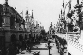 Coney Island has been a major tourist destination since the 19th century.