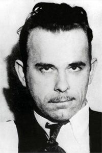 Dillinger's mug before it was immortalized in death (and in J. Edgar Hoover's office). See more public enemy pictures.
