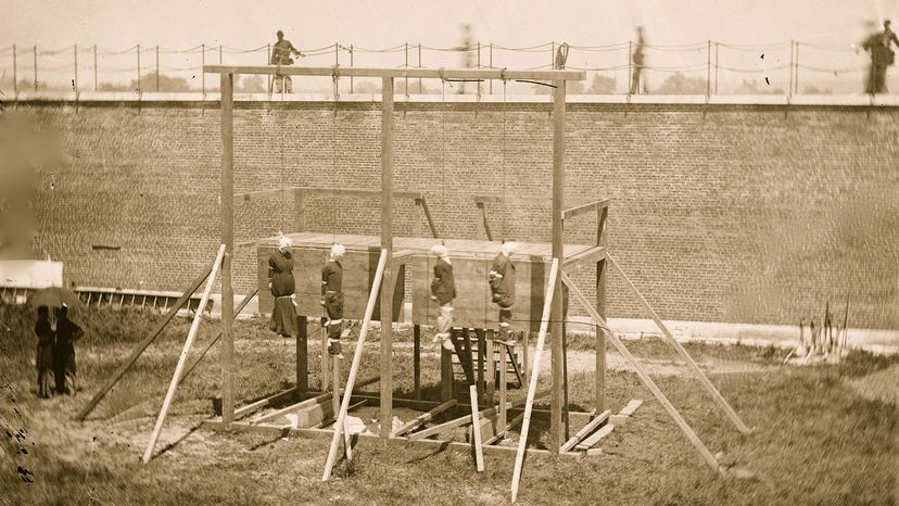 conspirators in Lincoln assassination hanged