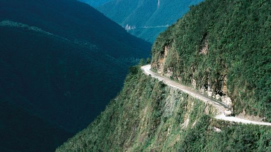 What's It Like Cycling the World's Most Dangerous Road?